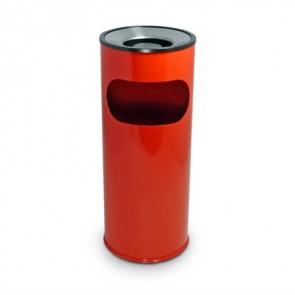 Red Ash Litter Bin (BDF24)
