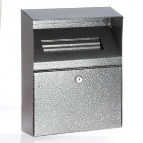 Linpure Wall Mounted Cigarette Bin - Silver (BDW09)