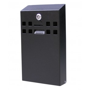 Slimline Wall Mounted Cigarette Bin (BDW05)